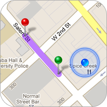 GPS Directions
